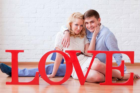 Любовь на день святого Валентина