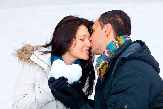 поцелуй на 14 февраля