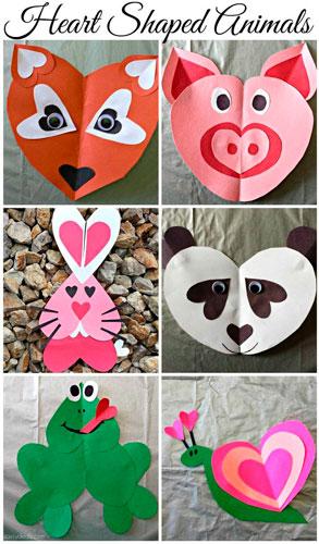 Детские поделки на день святого Валентина 2