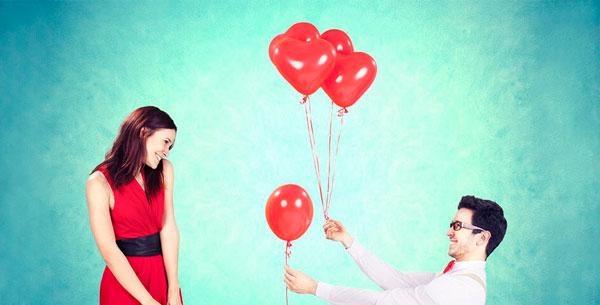 как красиво сфотографироваться паре на день святого Валентина