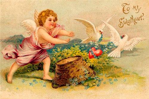 Традиции на день святого Валентина