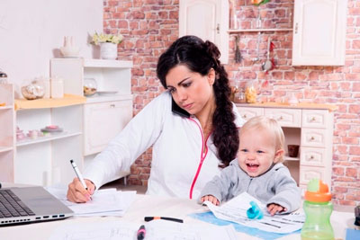 additional income on maternity leave