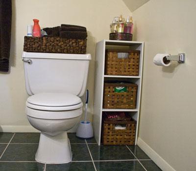 порядок в туалете