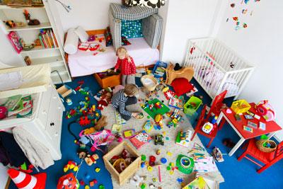 Как поддерживать чистоту и порядок в детской комнате