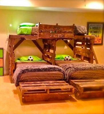 футбольная детская комната