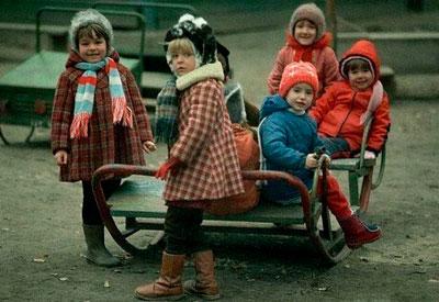 воспитание детей в СССР