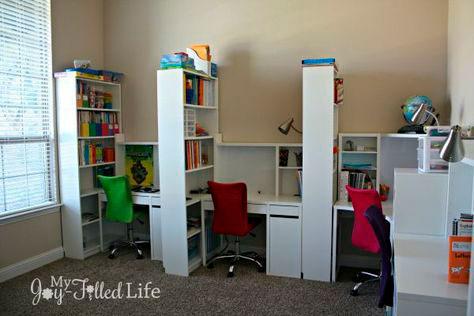 фото расположения рабочего места в деткиой комнате