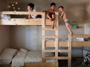 детская комната для трех мальчиков