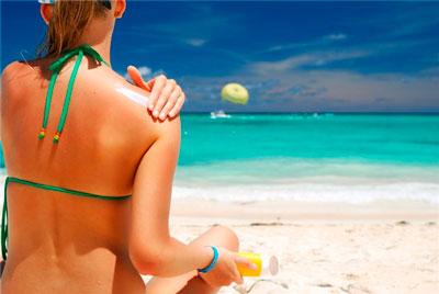 after-sun moisturizing care