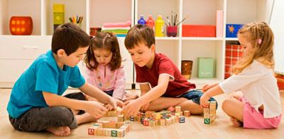 development of modern children in the family