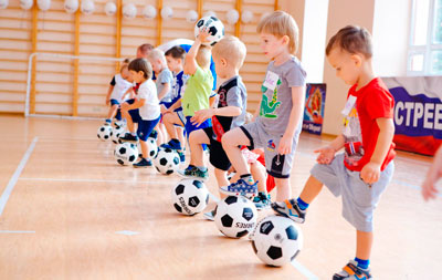 physical education of children of preschool age