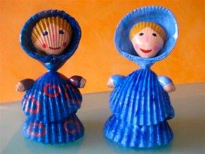 куклы из ракушек