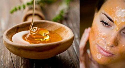 Как избавиться от мимических морщин с помощью меда