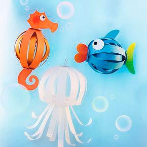 поделки на морскую тему в детском саду