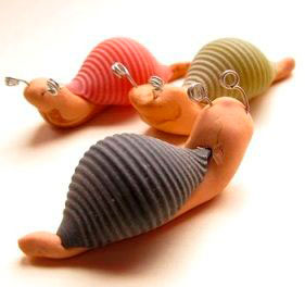 поделки из ракушек и пластилина для детей