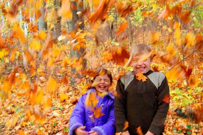 Стихи про октябрь для дошкольников