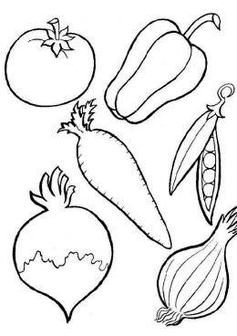 """Картинки на тему """"Осень"""" для раскрашивания, вырезания и аппликаций 8"""