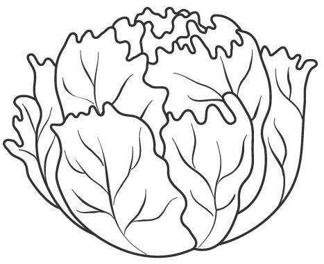 """Картинки на тему """"Осень"""" для раскрашивания, вырезания и аппликаций 7"""