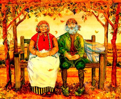 Стихи ко дню пожилого человека: для бабушек и дедушек