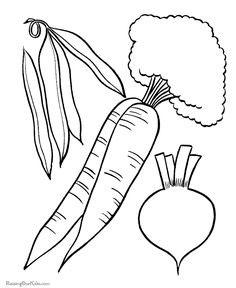 овощи для вырезания