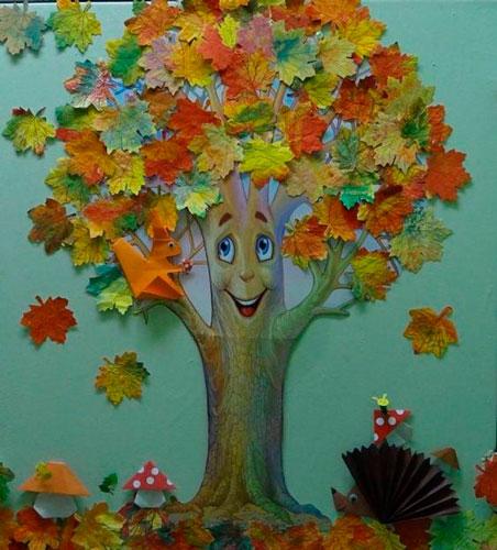 аппликация на тему осень для детского сада