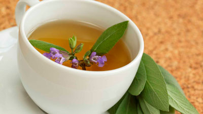 Folk remedy for acne at home from sage