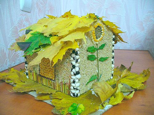 поделки домик на покровскую ярмарку