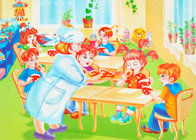 стихи про детский сад для малышей