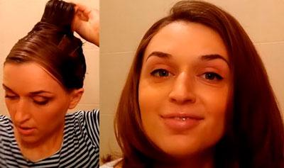 как сделать волосы прямыми дома