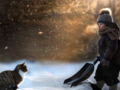 Загадки про снег для детей школьного возраста