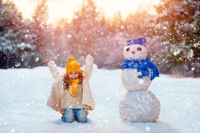 Загадки про снег для детей