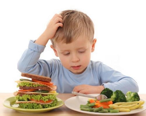 Питание ребенка во время простуды