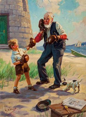 детские стихи про дедушку: очень трогательно!