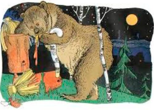 Стихи про медведя для дошкольников