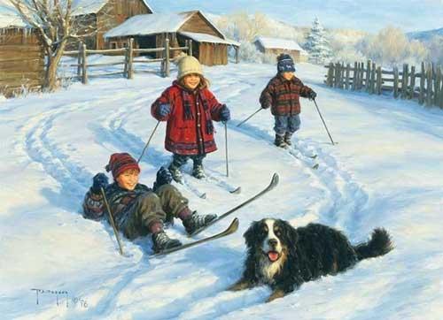 Стихи про декабрь для детей школьного возраста