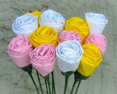 фото идеи по изготовлению цветов из бумаги