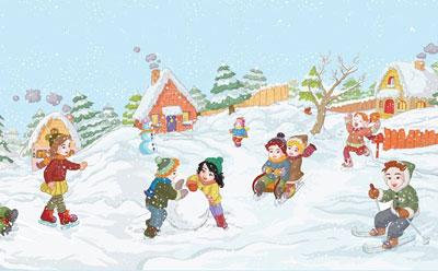 Зимние приметы погоды для детей