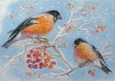 Стихи про снегирей для детей в сад