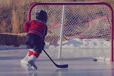 детские стихи про хоккей