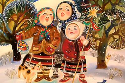 Колядки на Рождество для школьников
