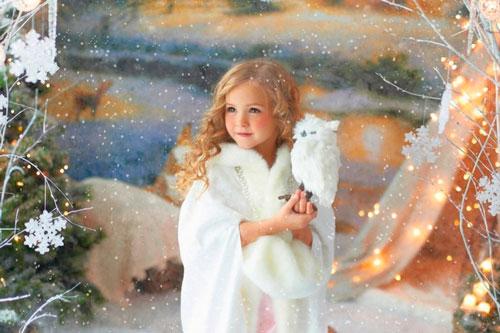 детские стихи про снежинки