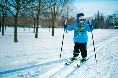 Загадка про лыжи для детей дошкольного возраста