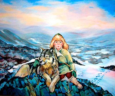 Загадки про волка для детей в школу