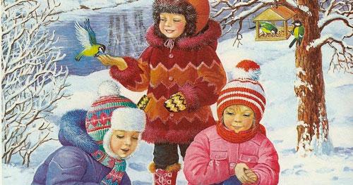 Стихи про февраль для детей 3-5 лет