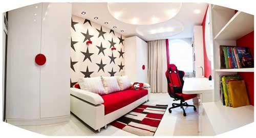 красивая комната для девочек