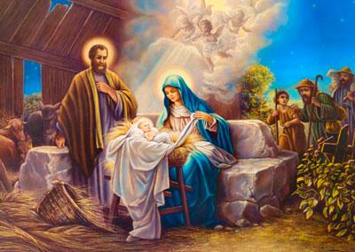 Поздравление с Рождеством Христовым в стихах для детей и взрослых