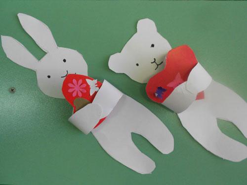 валентинки из бумаги для детей 4-5 лет