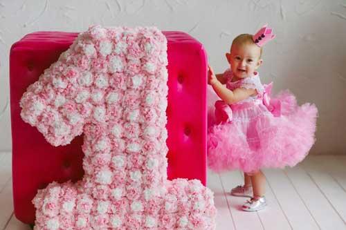 детский день рождения в домашних условиях: на 1 годик для девочки 2