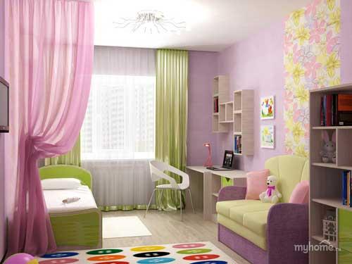 фото комнаты для девочки 5