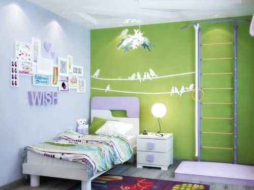 цвета в детской комнате для девочки 5 лет